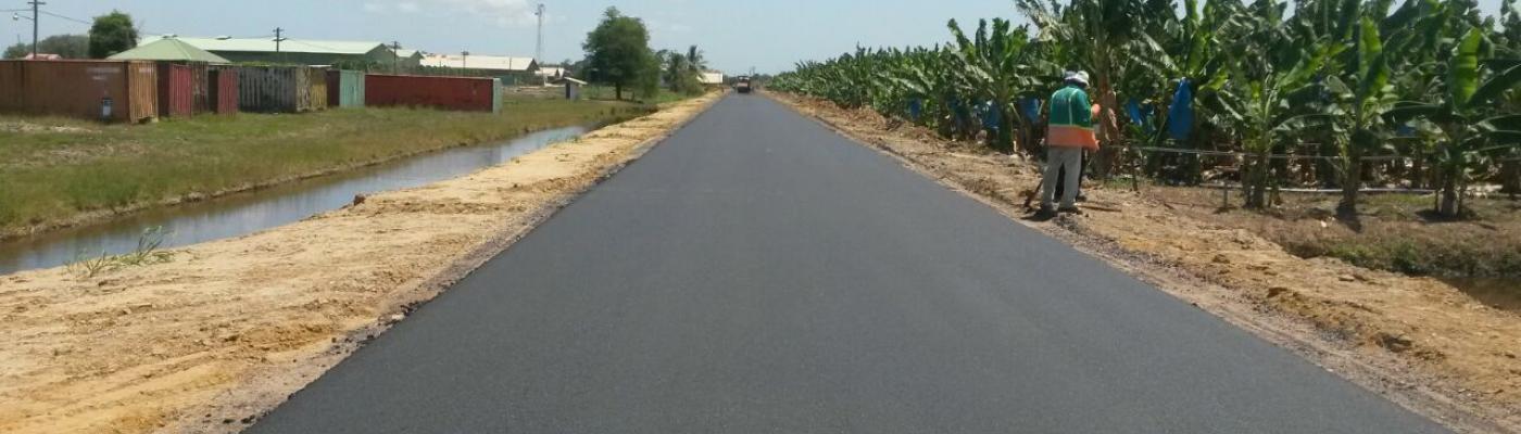 Road FAI Nickerie